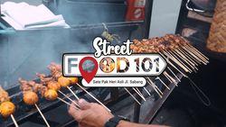 Lezat! Sate Ayam Pak Heri Asli di Jalan Sabang