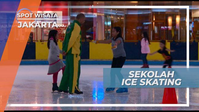 Menguasai Gerakan-gerakan Indah Ice Skating, Jakarta