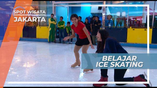 Trik Belajar Ice Skating Supaya Tidak Mudah Jatuh, Jakarta