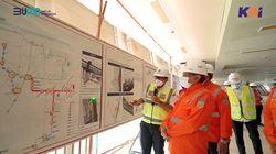 Komut KAI Tinjau Langsung Progres Pengerjaan LRT Jabodebek