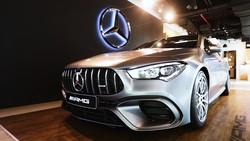 Mobil Sport Mercedes - AMG CLA 45 S Resmi Meluncur di Indonesia