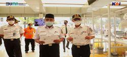 Komisaris Utama KAI Tinjau Langsung Prokes di Stasiun Pasar Senen