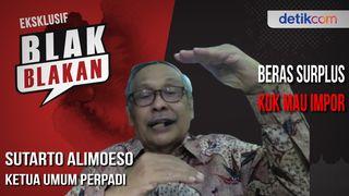 Blak-blakan Sutarto Alimoeso, Dua Kunci Stop Impor Beras