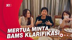 Mertua Bams Bantah Anaknya Selingkuh dengan Hotma Sitompul