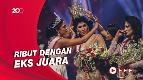 Momen Juara Kontes Kecantikan Sri Lanka Ribut di Panggung