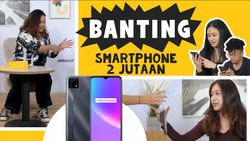 Prank Jatohin Realme C25, Beneran Tahan Banting?