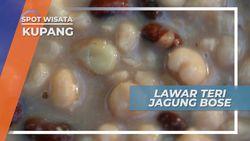 Lawar Teri Jagung Bose, Kombinasi Nikmat Menarik Kuliner Kupang