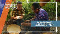 Jagung Titi, Kuliner Geprek Pipih dari Kupang