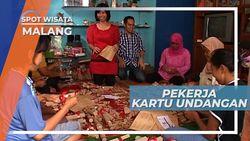 Usaha Kartu Undangan, Penyedia Lapangan Kerja Para Ibu Rumah Tangga, Malang