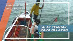 Perjuangan Para Nelayan Lokal, Berburu Ikan Menggunakan Alat Tradisional, Kotabaru