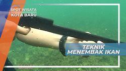 Teknik Khusus Harus Dimiliki Para Nelayan Saat Menembak Ikan, Kotabaru