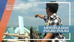 Menjelajahi Pulau-pulau Tanjung Kelayang Dengan Perahu Nelayan, Belitung