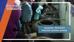 Berbagai Barang Bersejarah di Masjid Sunan Ampel, Surabaya