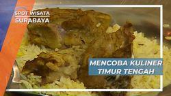 Warung Kopi Unik, Aneka Makanan Timur Tengah Disajikan, Surabaya