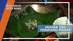 Memasak Tim Teripang Pedas, Kuliner Khas Kota Baru, Kalimantan Selatan