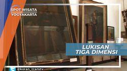 Beginilah Penampakan Lukisan Berumur Satu Abad Karya Raden Shaleh, Yogyakarta