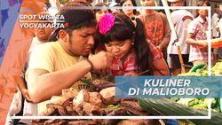 Menikmati Kuliner Khas Yogyakarta di Malioboro, Lauknya Melimpah Ruah