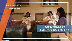 Serunya Berenang di Private Pool Hotel Cangkringan, Yogyakarta
