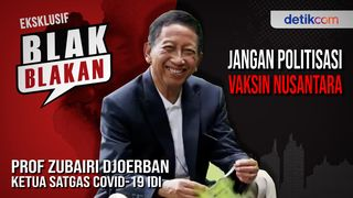 Blak-blakan Prof Zubairi Djoerban, Jangan Politisasi Vaksin Nusantara