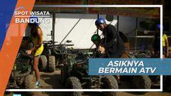 Bermain ATV Di Sirkuit Mini di  Bandung Jawa Barat
