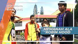 Memanah ala Robin Hood Bandung Jawa Barat
