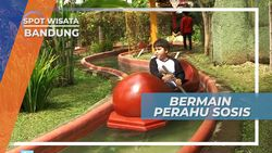 Bermain Perahu Sosis Bandung Jawa Barat