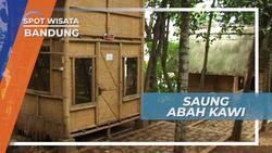 Saung Abah Kawi Cileunyi Jawa Barat