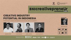 BNI Creativepreneur: Creative Industry Potential In Indonesia