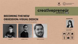 BNI Creativepreneur : Becoming The New Obsession Visual Design