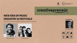 BNI Creativepreneur: New Era of Music Industry & Festivals
