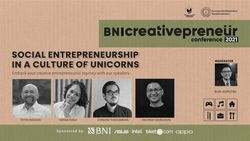 BNI Creativepreneur : SMES Go Global