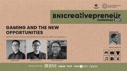BNI Cretivepreneur: Gaming And The New Opportunities