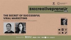 BNI Creativepreneur : The Secret of Successful Viral Marketing