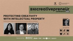 BNI Creativepreneur : Protecting Creativity With Intellectual Property