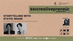 BNI Creativepreneur : Storytelling With Static Image