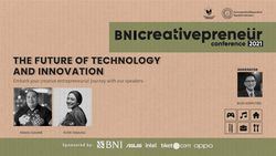 BNI Creativepreneur : The Future of Technology And Innovation