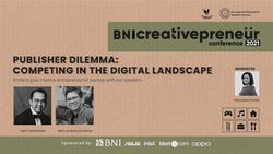 BNI Creativepreneur: Publisher Dilemma: Competing In The Digital Landscape