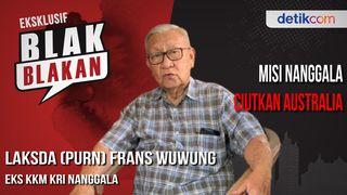 Blak-blakan Laksda (Purn) Frans Wuwung: Manuver Nanggala Bikin Gentar Australia-Filipina