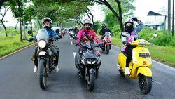 Riding Bersama Disable Motorcycle Indonesia di Surabaya