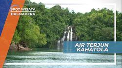 Airnya Langsung Mengalir ke Laut, Berkunjung ke Air Terjun Kahatola Halmahera