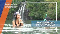 Snorkeling Di Bawah Air Terjun, Pesona Cantik Bawah Laut Kahatola Halmahera