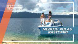 30 Menit Menuju Pulau Pastofiri, Menggunakan Speed Boat, Halmahera