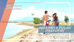 Indahnya Pastofiri, Pulau Tanpa Pasir di Halmahera, Maluku Utara