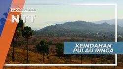 Keindahan Padang Savana Pulau Rinca yang Eksotis, Nusa Tenggara Timur
