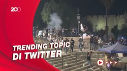 Simpati Netizen Terhadap Bentrok Polisi Israel-Warga Palestina