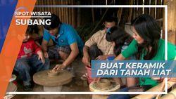 Wisata Edukasi Subang Jawa Barat, Belajar Membuat Keramik dari Tanah Liat