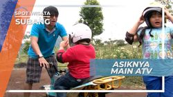 Seru dan Menegangkan! Bermain ATV Untuk Anak-anak di Subang Jawa Barat