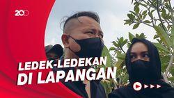 Main Bola Jadi Kenangan Terakhir Vicky Prasetyo Bareng Sapri Pantun