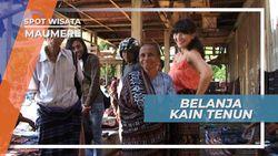 Berburu Kain Tenun Bermotif Khas Maumere di Pasar Geliting, Flores