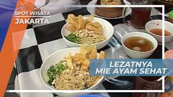 Mie Ayam Gamat, Lezat Nikmat Bikin Sehat, Jakarta